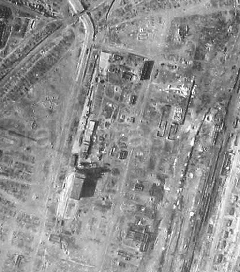 Stalingrad, Luftwaffle Reconaissance Photograph